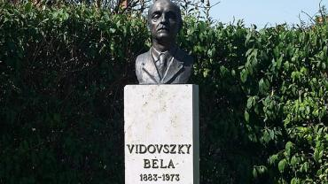 Bust Sculpture of Béla Vidovszky